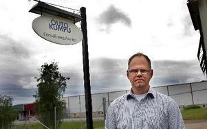 Platschef Tony Andersson vill trots problemen med lönsamheten fokusera på positiva saker som att man nu gör en satsning som innebär ökad produktionsvolym och att man ska kunna ta mer marknadsandelar.FOTO: MIKAEL ERIKSSON