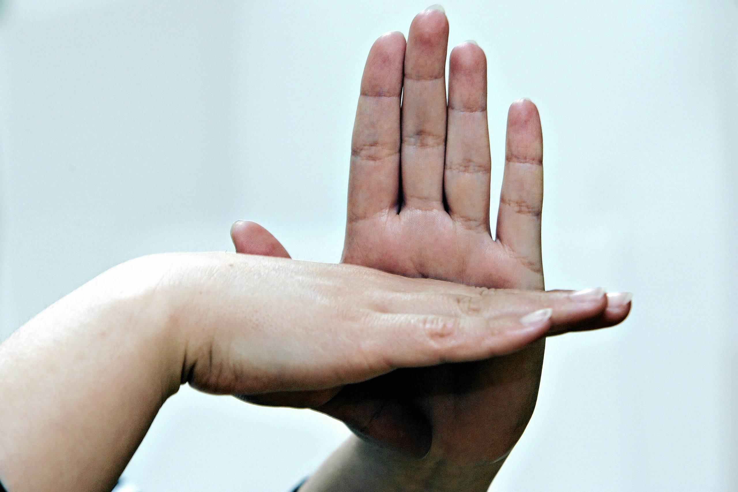 Teckenspråk ansluta