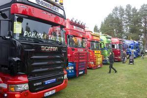 Över 300 lastbilar är anmälda till årets upplaga av Lastbilsträffen i Ramsele.