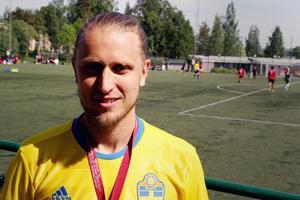 Anders Wästman är en av lärarna bakom fotbollsturneringen