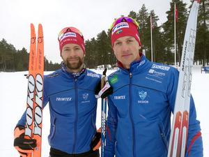 David Frisk och Anders Solin.
