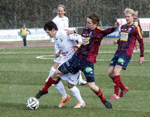 Det förra derbymötet slutade med en 2–1 seger för Ånge IF efter två mål av Oskar Nordlund.