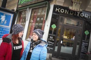 Tjejkraft kallar Jennie Nordin och Alexzandra Edström sitt projekt, som de drog i gång för ett år sedan under sin utbildning till behandlingspedagoger på Birka folkhögskola.