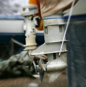 Polisen har fått in 24 anmälningar om båtmotorstölder i Hudiksvall hittills i år.