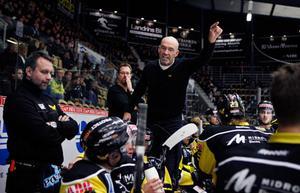 Mats Waltin var inte nöjd med lagets insats efter förlusten mot Borås.