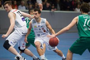 Aleksa Solevic blev poängbäst med sina 23 poäng. Han spelade i vanlig ordning också fram till många poäng.
