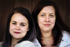 Frida Finnström och Annki Olsson i Kilafors ordnar gemensamt julfirande i Kilafors.