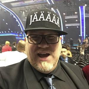 Mattias Bylund på plats i Los Angeles.