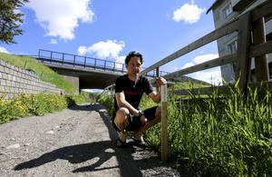 Patrik Nordin, tävlingsledare, är nöjd med hur utvecklingen kring trail– och fjällmaratonloppen. Foto: Patrick Rosenberg.