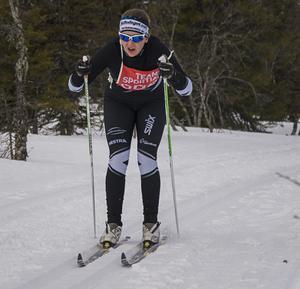 I det korta loppet, 22,5 kilometer, tog Karolina Hedenström, Östersunds SK hem segern på 1:24:51.