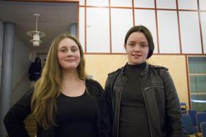 Tilde Gustafsson och Magdalena Nyberg har båda upplevt kränkning på nätet och i appar.