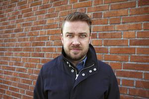 Idén om bilden kom upp under ett styrelsemöte, berättar Kim Söderström, ordförande för Byggnads Gävle Dala. Pussyhatten har han kvar och tänker använda igen, säger Söderström.