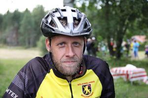 Kennet Bolinder från Söderhamn är en av två multisportare som grundade föreningen Söderhamns Multisport