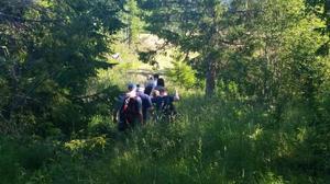 Organisationen UFO-Sverige gjorde under onsdagen en expedition i en skog i länet.