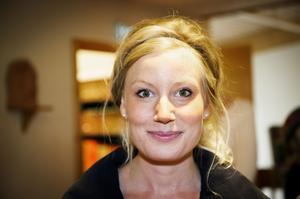 Karolina Lilja, Svanö:–  Det är min möjlighet att påverka för solidaritet och en human politik.