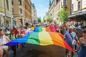 Pride är först ut av sommarens festivaler. På lördag går den stora Pride-paraden av stapeln.