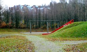 Lekparken i Ortviksparken.