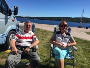 Inga och Kaj har varit ett par i över 40 år och tillsammans har de åkt husbil runtom i landet i tio års tid. De bodde i Sundsvall i elva års tid.
