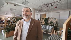 Hisham Törnvall, chef på socialförvaltningen.