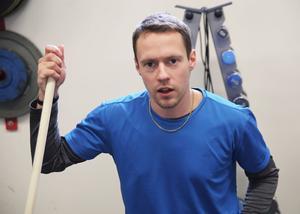 En stor del av förra säsongen fick Joel Edling ägna åt rehabträning.