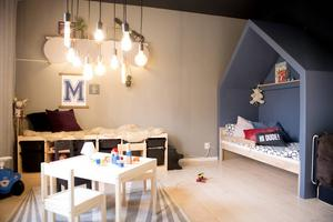 Molles rum är rena rama drömmen för alla som har barnasinnet i behåll.