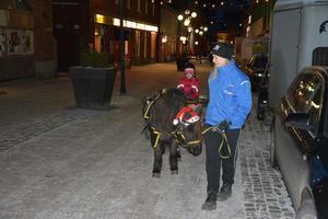 När fyraåriga Alva Olsson hade styrt runt i Örnsköldsvik visste hon att det är en häst hon vill ha.