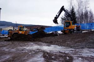 Dioxinsaneringen vid hyvleriet i Svartvik är klar och nu återställs området.