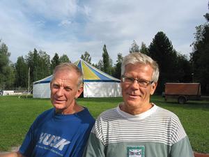 Lennart Uhras och Ingvar Karlberg ingår i ledningsgruppen för Kom och se-festivalen som inleds i Öeparken idag, fredag.