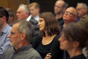 Kommunal chef. Kajsa Ravin, chef för Kultur och Fritid i Gävle kommun, fanns med bland åhörarna.