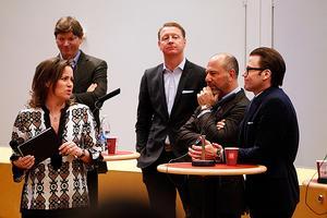 Ebba Blitz, Skype-grundaren Niklas Zennström, Ericssons VD hans Vestberg, restaurang- och hotellägaren Alessandro Catenacci och Prins Daniel lanserade entreprenörsprogrammet i Omegasalen på Mälardalens högskola.