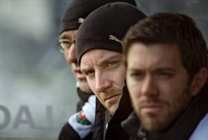 Axel Kjäll, i mitten.