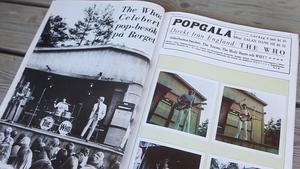 Fargbilderna från Söderhamn ur boken om The Who i Sverige är Lasses.