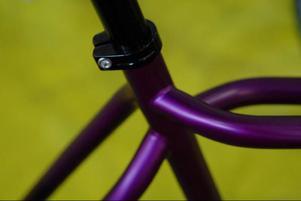 Detaljer från cyklar. Det är bilder man just nu kan se i foajén till Friskis & Svettis på Frösön.