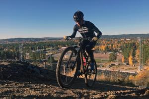 En ny tävling - Lugnet-XCO - kommer att arrangeras 2018 i den nya cykelbanan som håller på att byggas på Lugnet. FOTO: Falu kommun