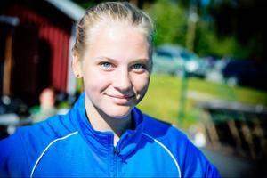 Kasttalangen Lovisa Sjöstrand är en tjej att hålla koll på i helgen. 16-åringen tog dubbla USM-guld tidigare i sommar.