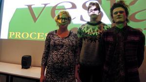 Cecila Cronelid, Jens Peterson-Berger och Olov Ylinenpää är tre av elva konstnärer i årets Avesta Art.