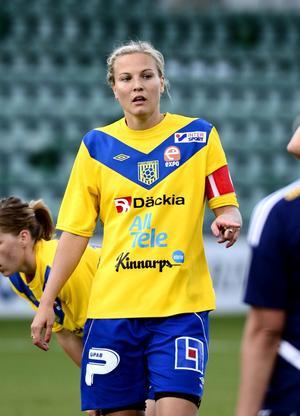 Den förre SDFF:aren Lisa Lantz var tillbaka med sitt Umeå Södra.