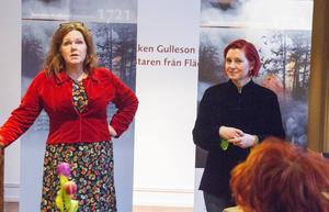 Händelser i Hälsingland så som ryssbränningar och baltflyktingar ska ge perspektiv på samtiden hoppas initiativtagarna Cia Ohlsson och Ulrika Beijer.