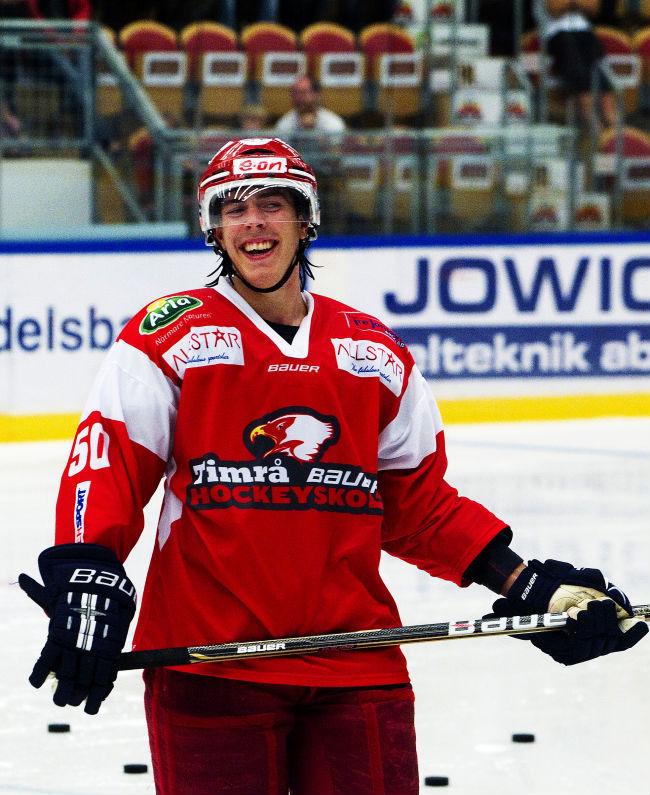 Ishockey sista matchen med ganget