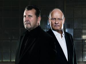 Mark Safarik och Bo Åström.