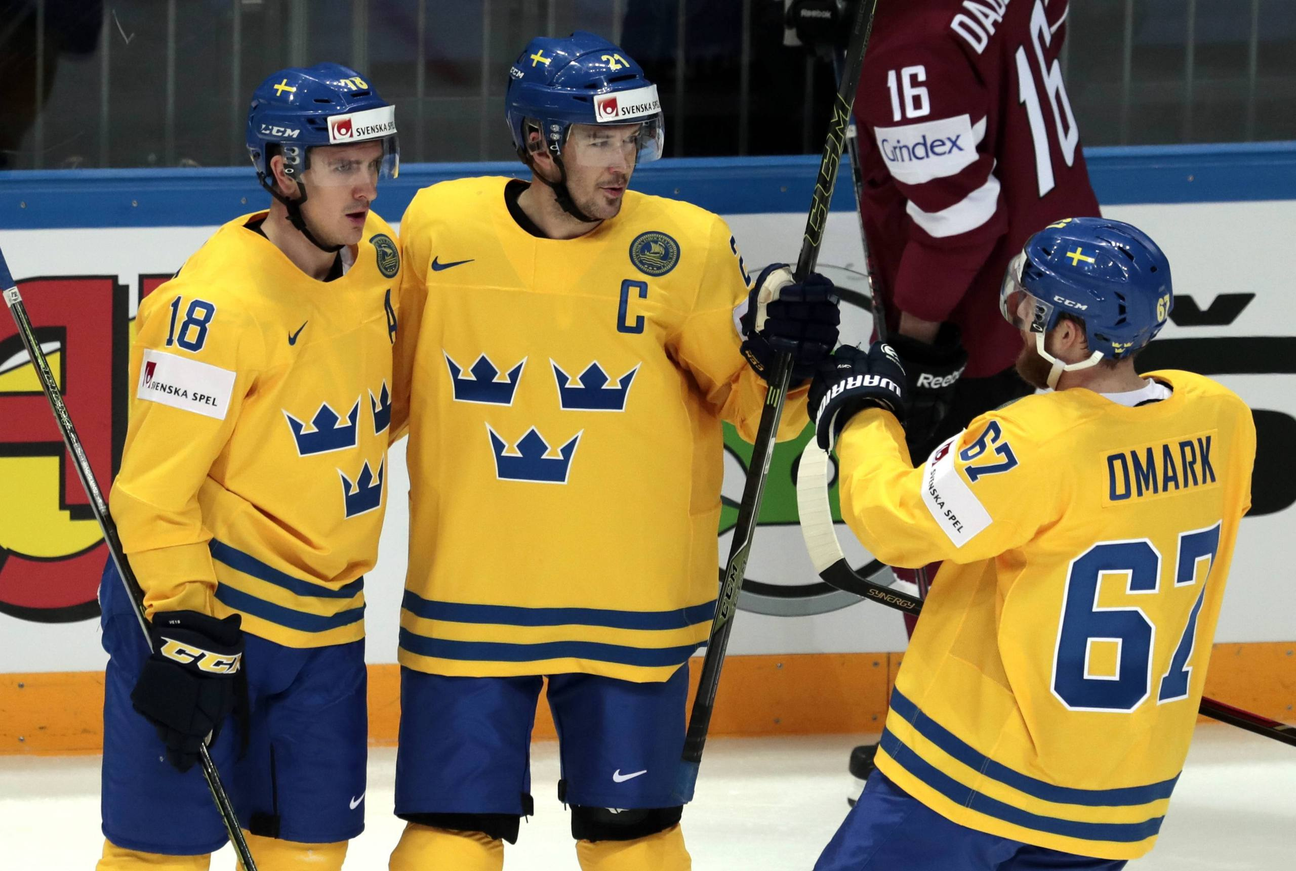 danmark sverige ishockey