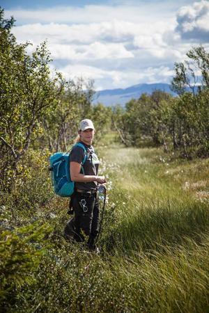 Lisa Tenning jobbar på länsstyrelsen i Jämtlands län och är projektledare för det nationella EU-projektet Life to ad(d)mire.