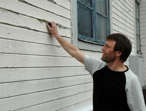 DAGS ATT MÅLA. När huset börjar se ut så här är det dags att börja tänka på renovering.