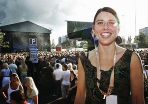 Sara Olsson hoppas på nya intryck och inspiration när Peace & Love förflyttar sig till Santiago, Chile. Tanken är att det ska bli ett återkommande arrangemang. Foto:StinaRapp