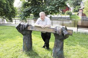 Pär Johansson älskar Medeltidsdagarna i Arboga.