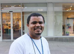 Leandro Amaral da Silva, Själevad:– Tyvärr hade jag ingen semester för jag var pappaledig. Jag har haft en fin sommar ändå, men det blir ingen skillnad nu.