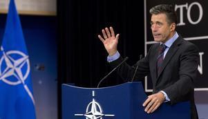 Natos generalsekreterare Anders Fogh Rasmussen gav de rakaste svaren på förra årets rikskonferens med Folk och Försvar.