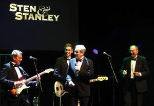 """Sten & Stanley har fortfarande glöd. Värmländska glädjespridare som roade publiken i Gävle konserthus med """"minnenas afton""""."""