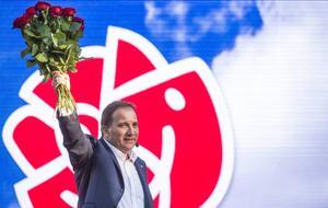 Socialdemokratin behöver en intern idédebatt, skriver Petter Bergner. På bilden: Partiledaren Stefan Löfven.