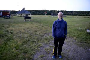 Kent-Ove Ulander, ordförande i Sundsvalls fallskärmsklubb. Bild: Håkan Humla